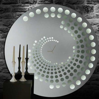 Καθρέπτης ρολόι, ZG2203, Έπιπλα Ζάγκα.