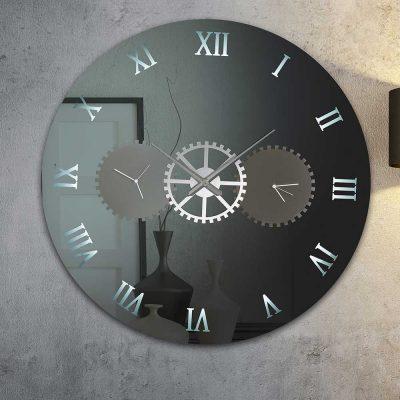 Καθρέπτης ρολόι, ZG2204, Έπιπλα Ζάγκα.