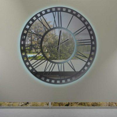 Καθρέπτης ρολόι, ZG2205, Έπιπλα Ζάγκα.