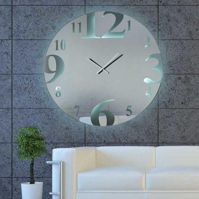 Καθρέπτης ρολόι, ZG2206, Έπιπλα Ζάγκα.
