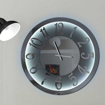 Καθρέπτης ρολόι, ZG2207, Έπιπλα Ζάγκα.