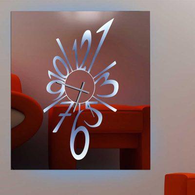 Καθρέπτης ρολόι, ZG2208, Έπιπλα Ζάγκα.