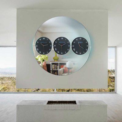 Καθρέπτης ρολόι, ZG2209, Έπιπλα Ζάγκα.