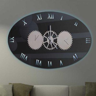 Καθρέπτης ρολόι, ZG2210, Έπιπλα Ζάγκα.