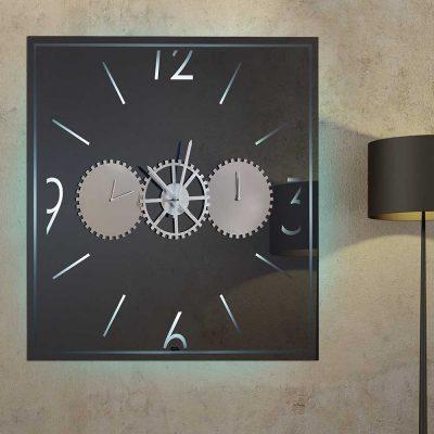 Καθρέπτης ρολόι, ZG2211, Έπιπλα Ζάγκα.