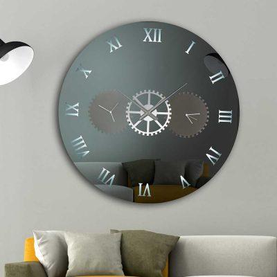 Καθρέπτης ρολόι, ZG2213, Έπιπλα Ζάγκα.