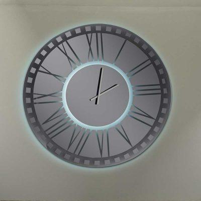 Καθρέπτης ρολόι, ZG2214, Έπιπλα Ζάγκα.