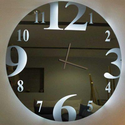 Καθρέπτης ρολόι, ZG2215, Έπιπλα Ζάγκα.