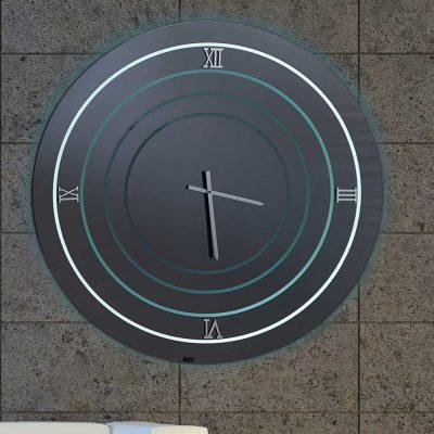 Καθρέπτης ρολόι, ZG2216, Έπιπλα Ζάγκα.