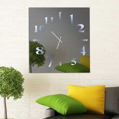 Καθρέπτης ρολόι, ZG2217, Έπιπλα Ζάγκα.