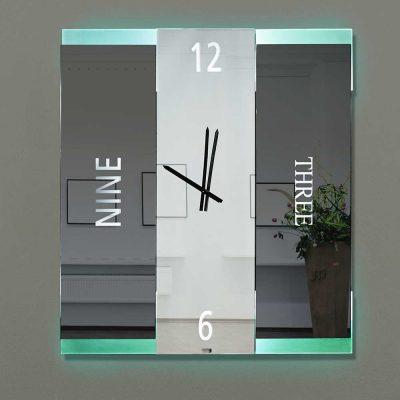 Καθρέπτης ρολόι, ZG2220, Έπιπλα Ζάγκα.
