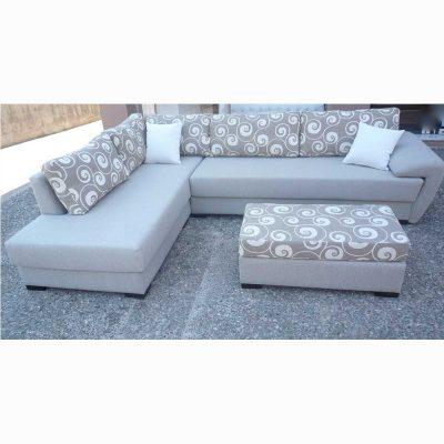 Γωνιακός καναπές ZG401, Έπιπλα Ζάγκα.