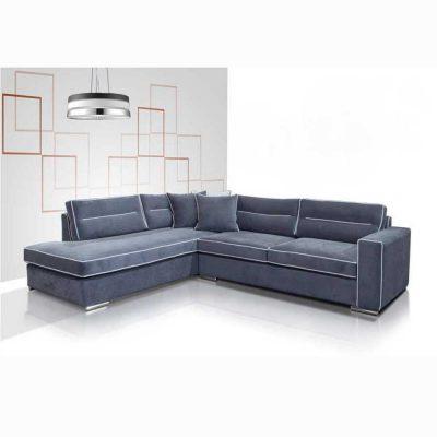 Γωνιακός καναπές ZG403, Έπιπλα Ζάγκα.