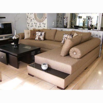 Γωνιακός καναπές ZG408, Έπιπλα Ζάγκα
