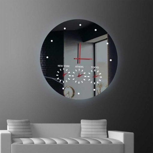 Καθρέπτης ρολόι, ZG55, Έπιπλα Ζάγκα.