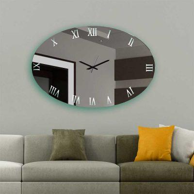 Καθρέπτης ρολόι, ZG57, Έπιπλα Ζάγκα.