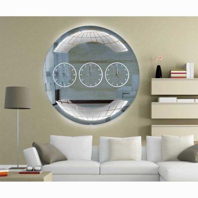 Καθρέπτης ρολόι, ZG64, Έπιπλα Ζάγκα.