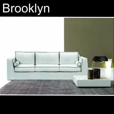 Brooklyn, καναπές τριθέσιος και διθέσιος, Έπιπλα Ζάγκα.