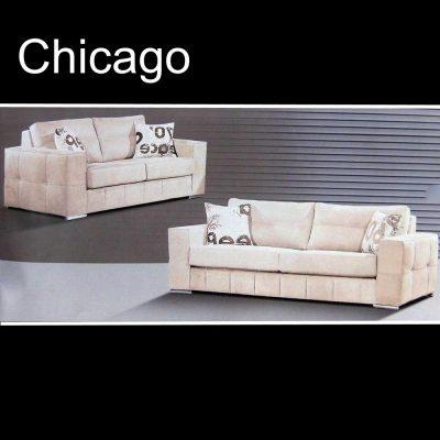 Chicago, καναπές τριθέσιος και διθέσιος, Έπιπλα Ζάγκα.