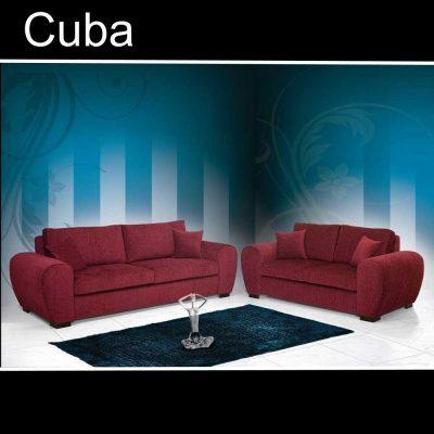 Cuba, καναπές τριθέσιος και διθέσιος, Έπιπλα Ζάγκα.
