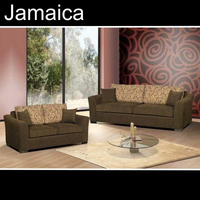 Jamaica, καναπές τριθέσιος και διθέσιος, Έπιπλα Ζάγκα.