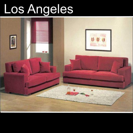 Los Angeles, καναπές τριθέσιος και διθέσιος, Έπιπλα Ζάγκα.