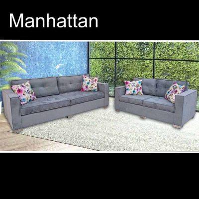 Manhattan, καναπές τριθέσιος και διθέσιος, Έπιπλα Ζάγκα.
