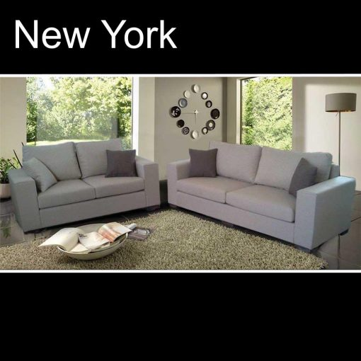New York, καναπές τριθέσιος και διθέσιος, Έπιπλα Ζάγκα.