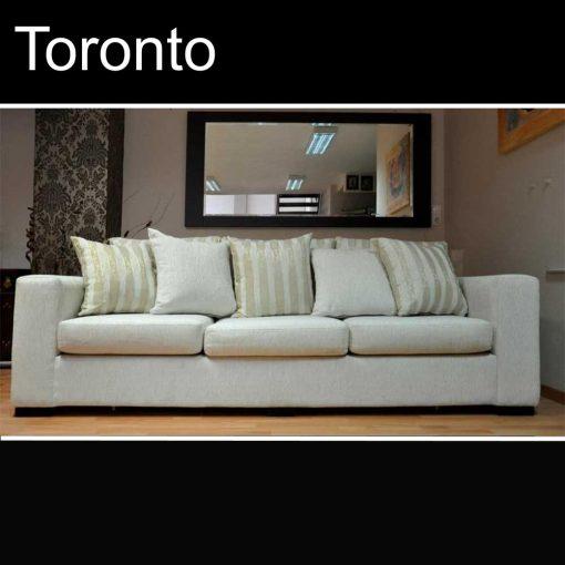 Toronto, καναπές τριθέσιος και διθέσιος, Έπιπλα Ζάγκα.